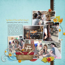 layout featuring Lots O' Photos Templates (vol. 1) by Sahlin Studio