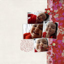 layout featuring Something to Say Mini-Wire Alpha by Sahlin Studio
