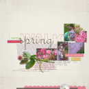layout featuring Snipettes: Springtime by Sahlin Studio