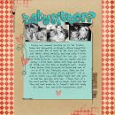 layout featuring Just Add Water Alpha by Sahlin Studio