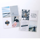 Beach Adventure Project Life page using Life is an Adventure (Journal Cards and Word Art) by Sahlin Studio