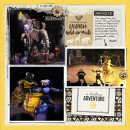 Animal Kingdom Lion King Show digital pocket scrapbooking page by justine using Project Mouse: Animal by Britt-ish Designs and Sahlin Studio