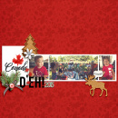 EH! Canada Digital Scrapbook Layout page using Project Mouse (World): Canada by Britt-ish Design and Sahlin Studio