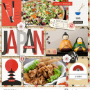 Japan Project Life Layout page using Project Mouse (World): Japan by Britt-ish Design and Sahlin Studio