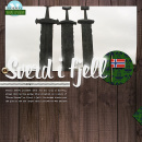 Sverd J fjell Project Life Layout page using Project Mouse (World): Norway by Britt-ish Design and Sahlin Studio