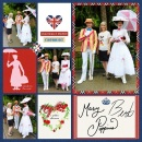 United Kingdom EPCOT Disney Marry Poppins Project Life Layout page using Project Mouse (World): United Kingdom England by Britt-ish Design and Sahlin Studio
