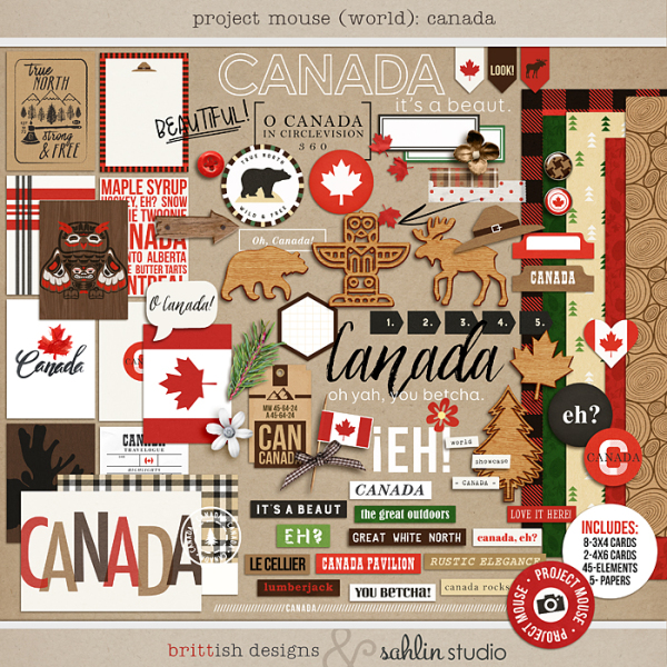 Project Mouse (World): Canada by Britt-ish Design and Sahlin Studio