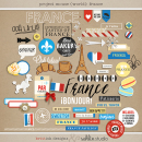 Project Mouse (World): France by Britt-ish Design and Sahlin Studio - Perfect for your Project Life or Project Mouse Disney Epcot Album