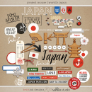 Project Mouse (World): Japan by Britt-ish Design and Sahlin Studio - Perfect for your Project Life or Project Mouse Disney Epcot Album!
