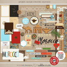 Project Mouse (World): Morocco by Britt-ish Design and Sahlin Studio