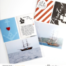 Pirates hybrid project life page using Project Mouse (Pirates) by Britt-ish Designs and Sahlin Studio