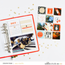 Hybrid Project Life Page using Oh What Fun - Digital Printable Scrapbooking Kit by Sahlin Studio