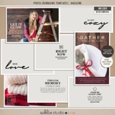 Photo Journaling Templates | Magazine