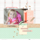 Scrapbook With Numbers digital scrapbooking layout using Numbers | Journal Cards