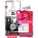 Me & You digital scrapbooking page Photo Rounds - Days Weeks by Sahlin Studio and MPM Memory Pocket Monthly Collection