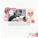 Love digital scrapbooking page by pne123 using Photo Rounds - Weeks by Sahlin Studio