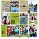Disney Run digital project life page by kathleen using Project Mouse (Run) by Britt-ish Designs and Sahlin Studio