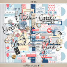 For Real (Kit) by Sahlin Studio