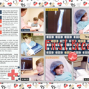 digital scrapbooking double page using Ouch (Kit) by Sahlin Studio