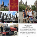 Harry Potter Wizarding World Hogwarts Express digital project life page using Project Mouse (Wizarding) by Britt-ish Designs and Sahlin Studio