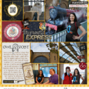 Digital project life page using Project Mouse (Wizarding) by Britt-ish Designs and Sahlin Studio