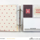 December Foundation Pages - Perfect for Project Life / December Daily / Document Your December Albums using December collection by Sahlin Studio