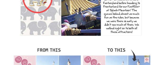 Tips For Embellishing Project Life Layouts Using the Over App