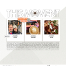 This Moment - Currently Enjoying, Loving, Eating digital scrapbook page by fonnetta featuring Currently Photo Templates and Flair Icons by Sahlin Studio