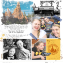 Disney digital project life page using Project Mouse (Frontier): Enamel Pins & Artsy by Britt-ish Designs and Sahlin Studio