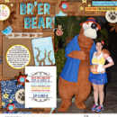 Disney Meet and Greet digital scrapbooking page using Project Mouse (Frontier): Enamel Pins & Artsy by Britt-ish Designs and Sahlin Studio