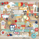 Project Mouse (Boardwalk): Elements by Britt-ish Designs and Sahlin Studio - Perfect for documenting your Project Life and Disney albums!!