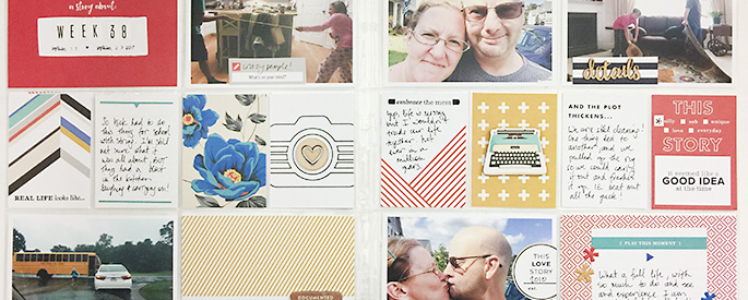 Sahlin Studio Creative Team Theresa Moxley | A Layout ft. Stories Value Kit