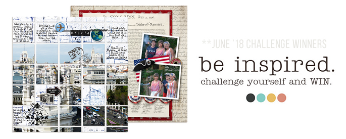 Sahlin Studio June 2018 Blog Challenge Winners