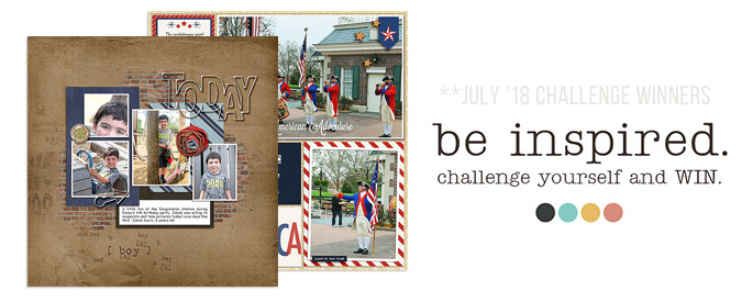 July 2018 Blog Challenge Winners