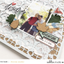 Discover hybrid scrapbook page Project Mouse (Wilderness) by Britt-ish Designs and Sahlin Studio