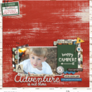 Adventure is Out There digital scrapbook page Project Mouse (Wilderness) by Britt-ish Designs and Sahlin Studio