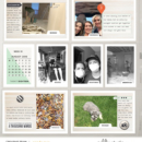 Love the Daily digital Project Life scrapbook page Snapshots Photo Templates by Sahlin Studio