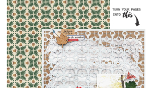 How to Create Cut Files from Pattern Papers or Templates - TUTORIAL