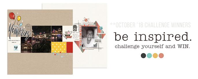 October 2018 Challenge Winners - Sahlin Studio Blog