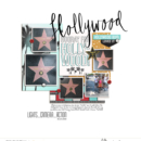 Hollywood Stars digital scrapbooking layout using Project Mouse (Movies) by Britt-ish Designs and Sahlin Studio