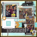 Hollywood Studios digital scrapbooking layout using Project Mouse (Movies) by Britt-ish Designs and Sahlin Studio