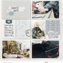 Winter Story Memories Project Life page scrapbooking layout using Winter Stories by Sahlin Studio