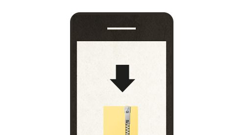 HOW-TO Download, Un-Zip, and App Scrap all on your PHONE!! Perfect for scrapbooking on the go!