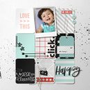 Happy Love this digital scrapbooking layout using Project Mouse (Vibes) Elements by Britt-ish Designs and Sahlin Studio
