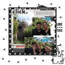 Disney Click digital scrapbooking layout using Project Mouse (Vibes) Elements by Britt-ish Designs and Sahlin Studio