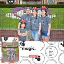 Disney Magic digital scrapbooking layout using Project Mouse (Vibes) Elements by Britt-ish Designs and Sahlin Studio