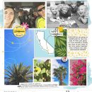 Disney California digital scrapbooking layout using Project Mouse by Britt-ish Designs and Sahlin Studio - Perfect for scrapbooking or in your Disney Project Life or Project Mouse albums!!