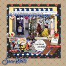 Meeting Disney Snow White Princess digital scrapbook layout using Project Mouse (Princess) Snow White   Journal Cards & Kit by Britt-ish Designs and Sahlin Studio