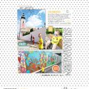 Summer Documented Blue Skies digital scrapbook layout using Summer Stories | Kit by Sahlin Studio