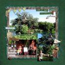 Disney Tarzans Treehouse digital scrapbook layout using Project Mouse (Animal) | Artsy & Pins by Britt-ish Designs and Sahlin Studio